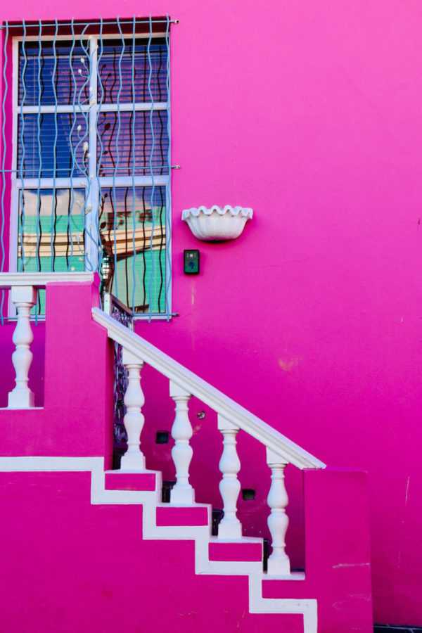 pink house cape town