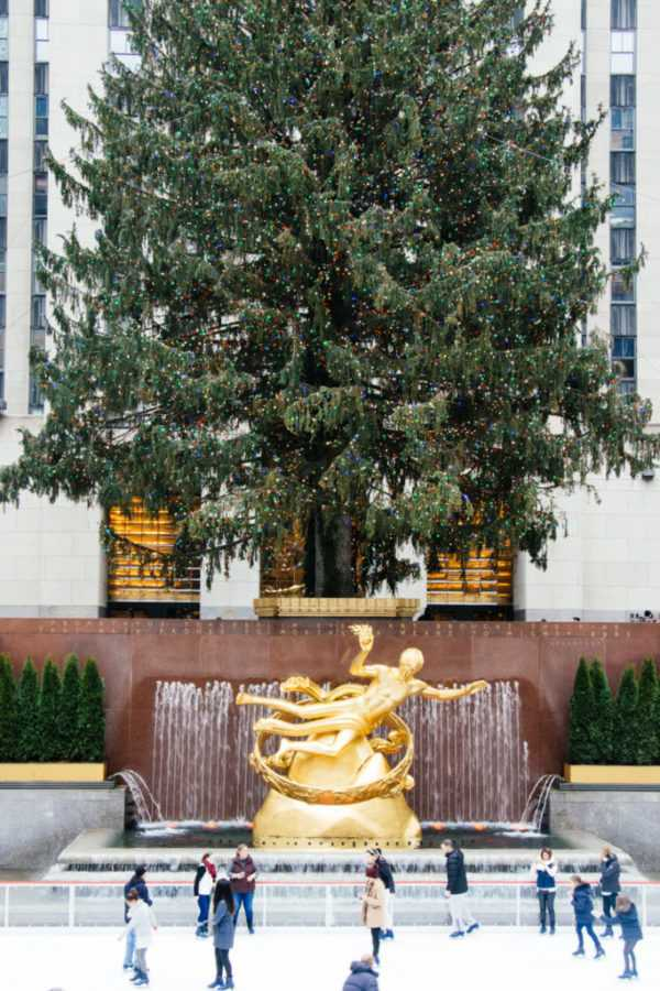 Tannenbaum im Rockefeller Center, New York