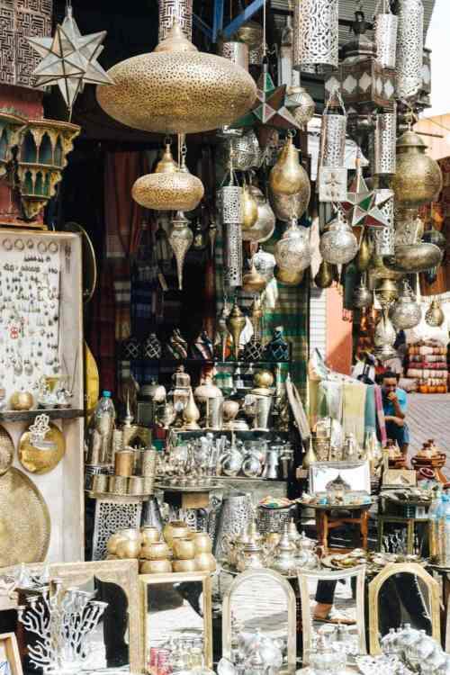 Lampen Marokko