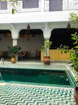 Pool Riad Rodamon Hostel Marrakesch