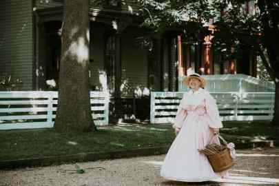 Springfield Illinois Kostueme im Abraham Lincoln Home