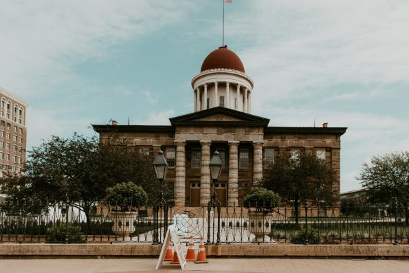 Springfield Illinois Old State Capitol
