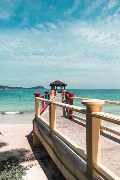 Perhentian Islands Pulau Perhentian Besar Malaysia Steg Meer