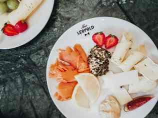 Breakfast plate at Herr Leopold Salzburg