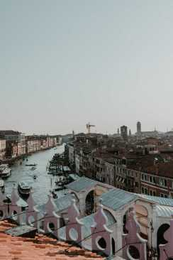 Dachterrasse Canal Grande
