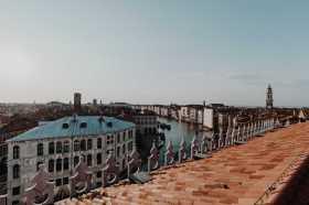Blick Canal Grande Dachterrasse