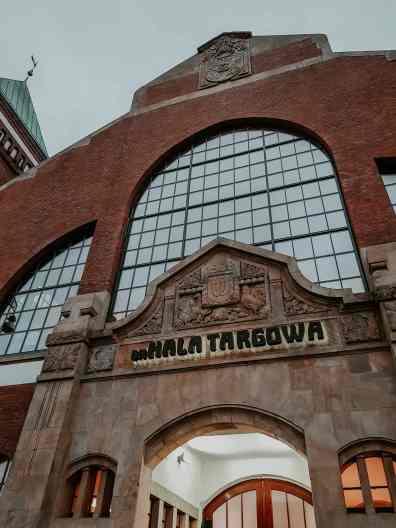 Breslau Sehenswürdigkeiten Markthalle in Breslau von außen