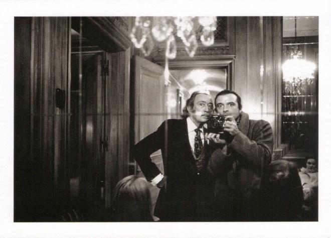 Salvador Dali and David Bailey. David Bailey, 1972. © David Bailey