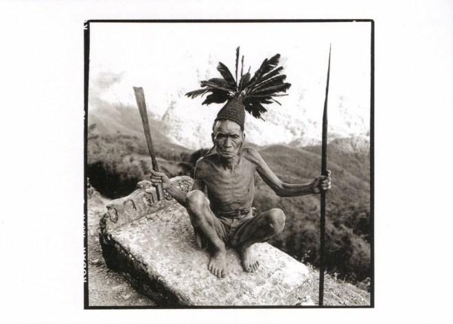 Tribesman, Naga Hills, India. David Bailey, 2012. © David Bailey.