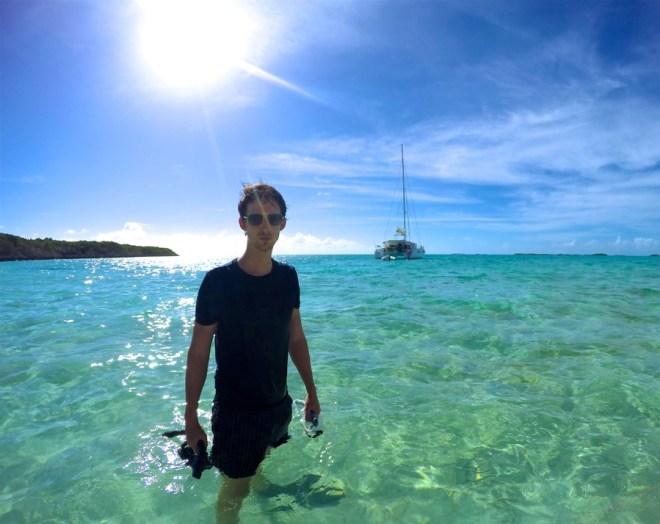 Pig Beach, Pig Island, Exumas