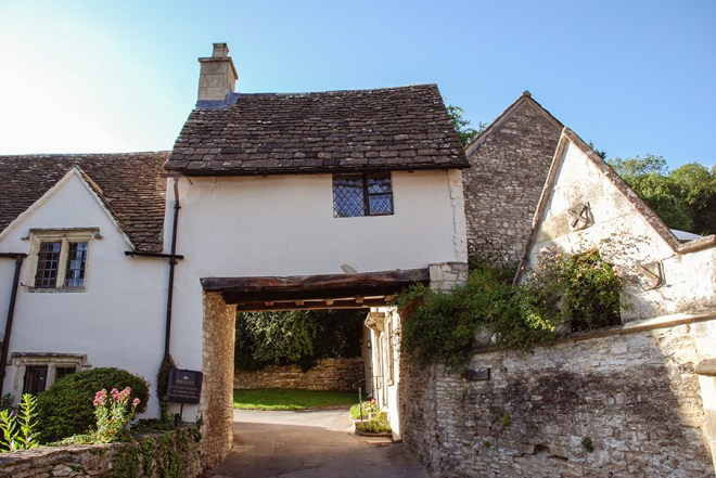 Cotswolds - Castle Combe - wonky cottages
