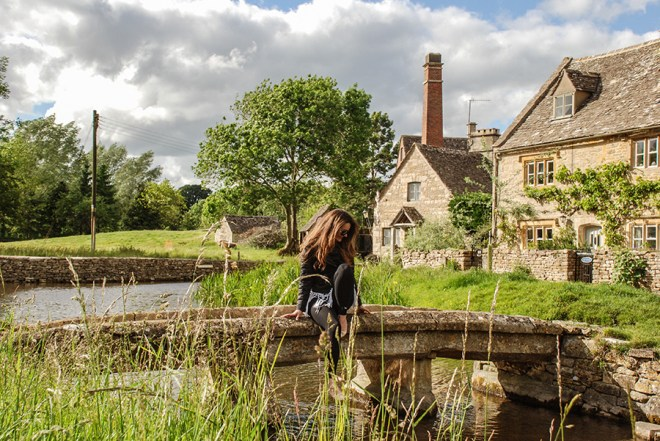 Cotswolds - Lower Slaughter - River Eye