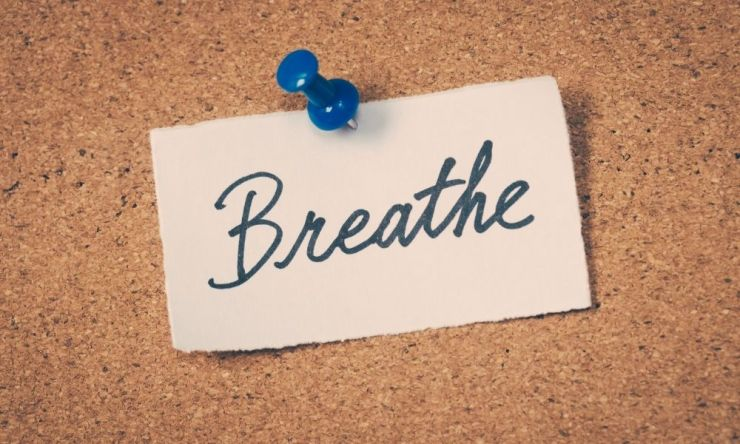 breathe when you worry too much