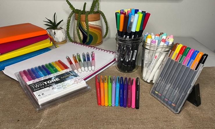 5 best colorful pen sets