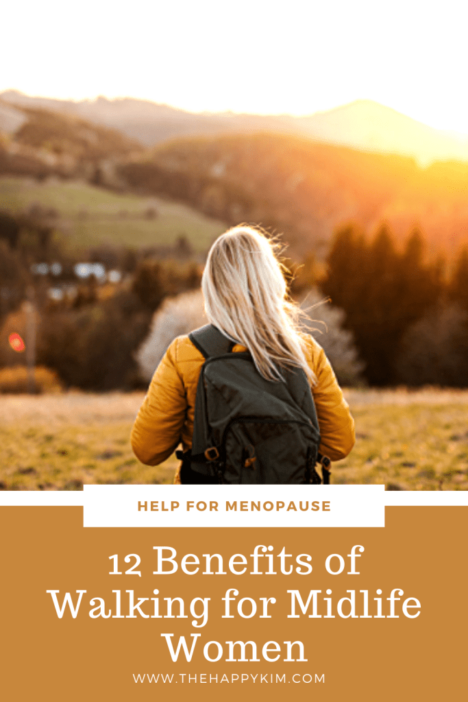 12 benefits of walking for midlife women