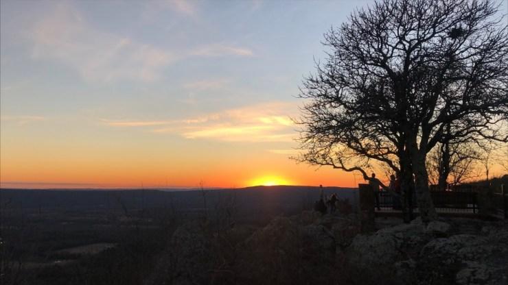 petit jean sunset gravesite