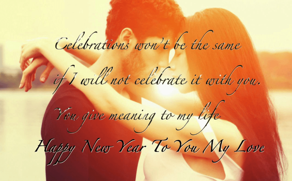 New Year Message For Husband Abroad