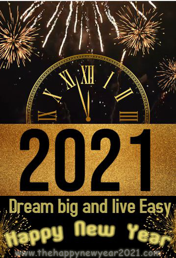2021 short new year wishes