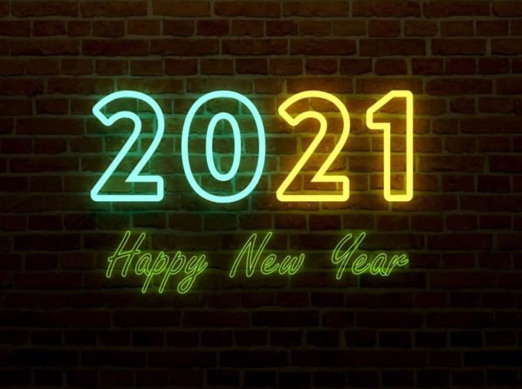 Happy New Year Wallpaper 2021