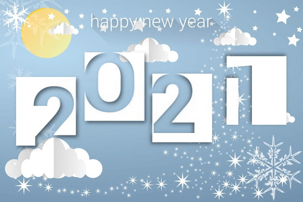 free download Happy New Year wallpaper 2021