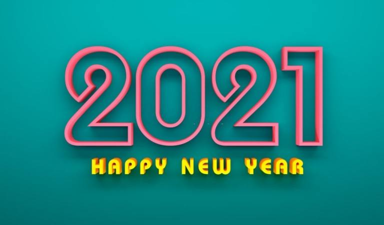 Beautiful Happy New Year 2021 Wallpaper and Images
