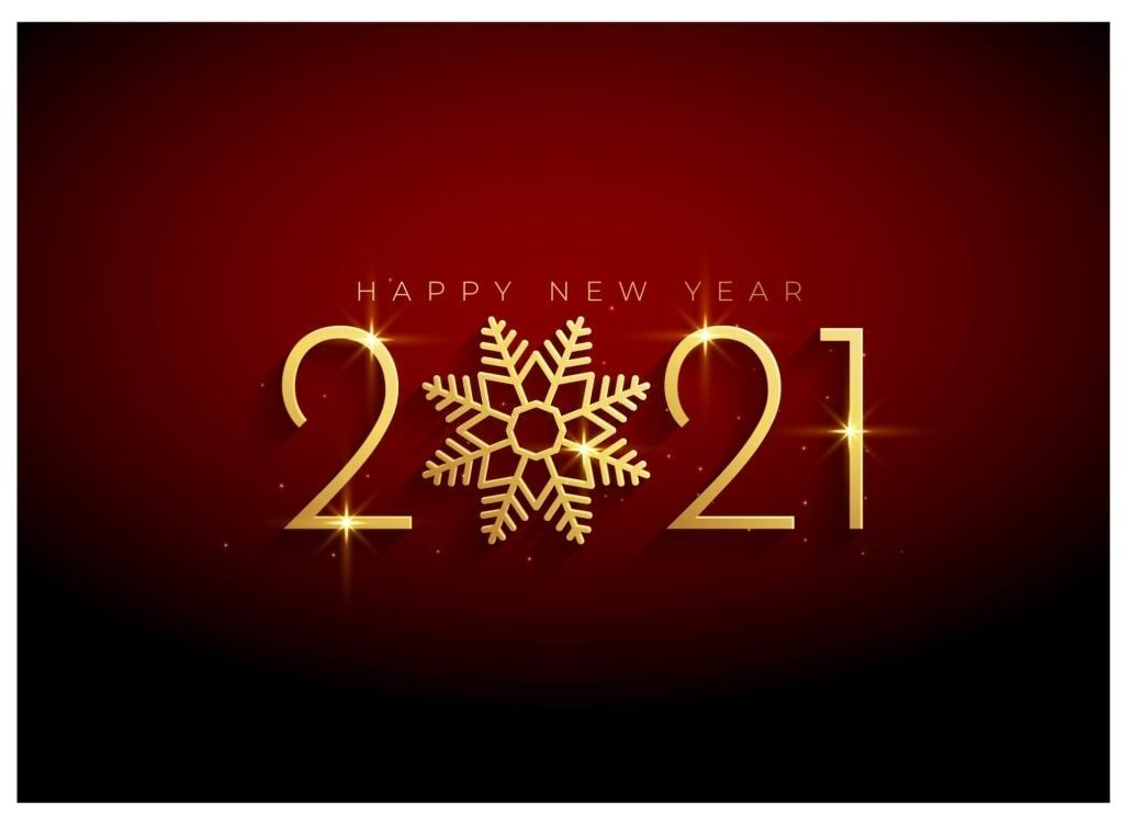 2021 new year greetings images
