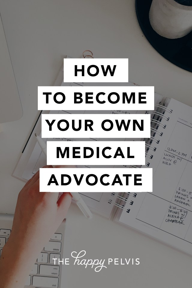 How to become your own medical advocate