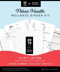 Pelvic Health Medical binder kit