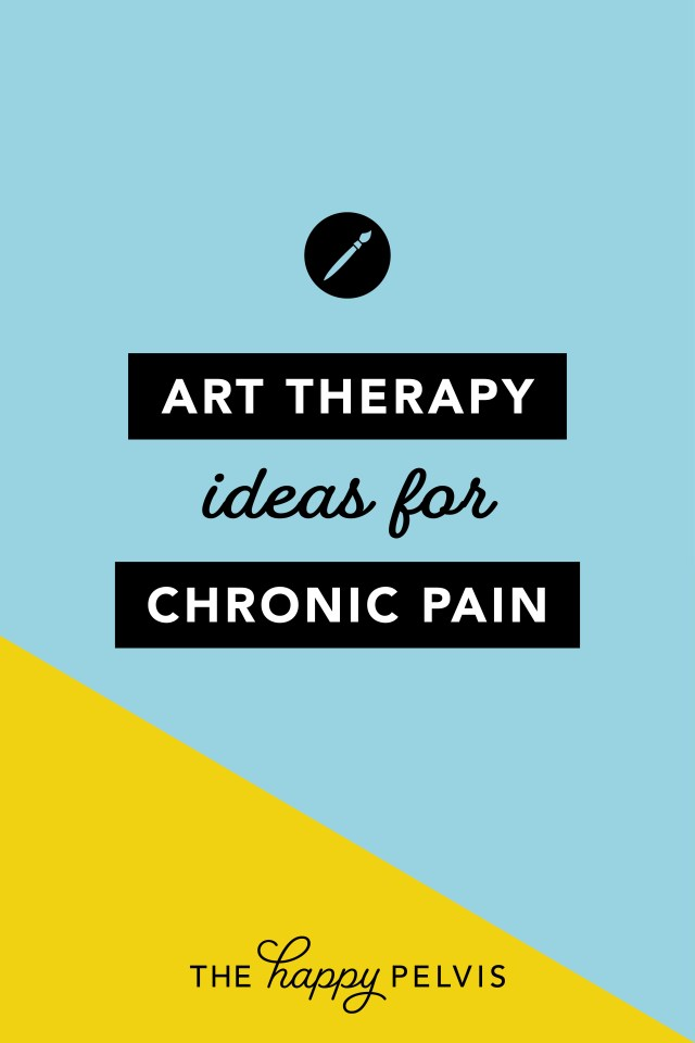 Art therapy for Chronic Pain, Art Therapy Ideas for chronic illness