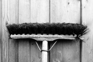 happy utility broom