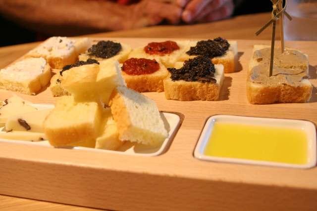 truffle tasting in Istria