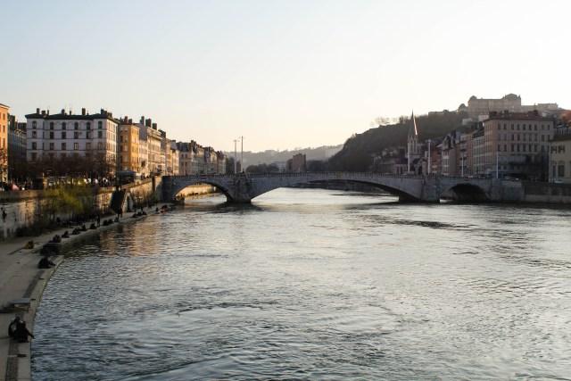 Soane River Lyon, France