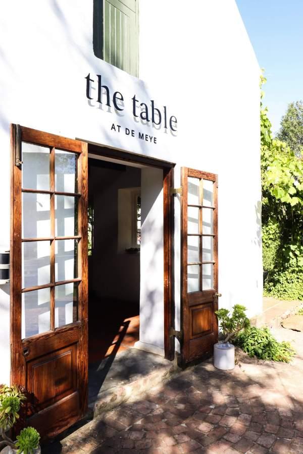 The Table at De Meye