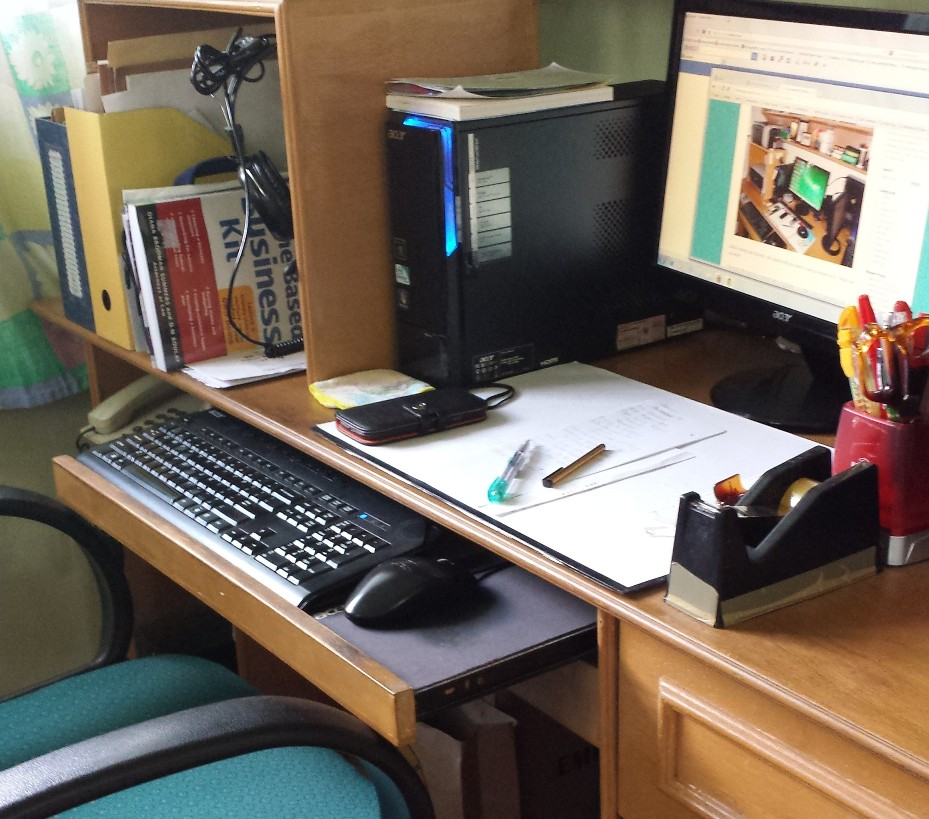 The Happy WAHM's Home Office
