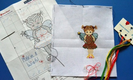 My Cross-Stitch Kit Is No Longer Mine