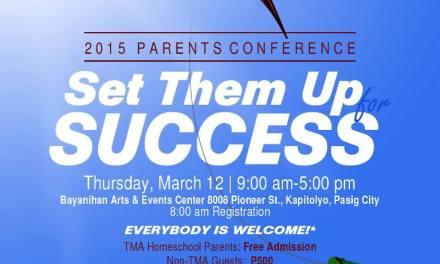 2015 TMA Homeschool Parents Conference