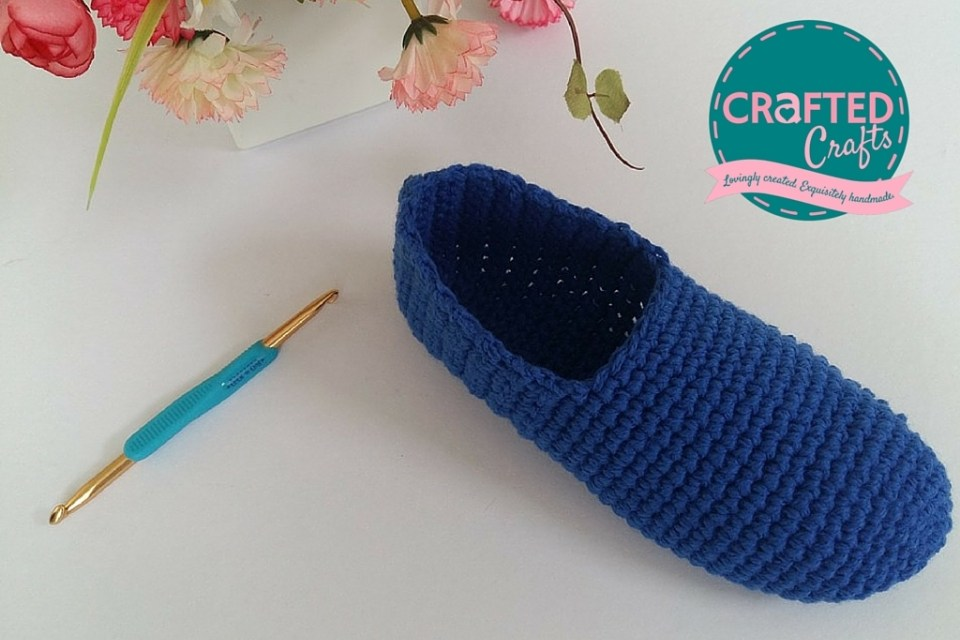 DIY Crocheted Slippers Are Love!