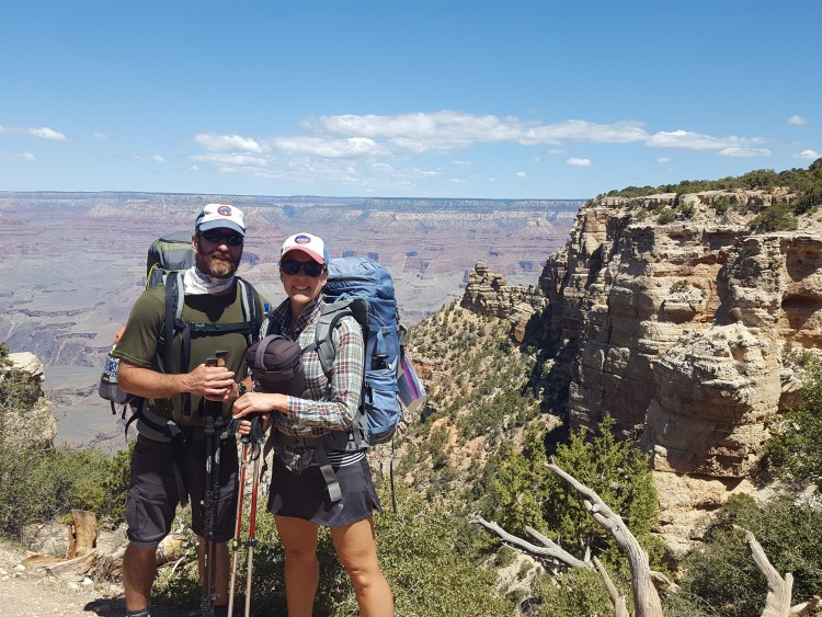 Backpacking into the Grand Canyon