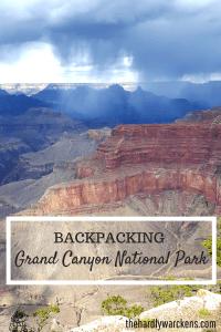 Backpacking Grand Canyon National Park