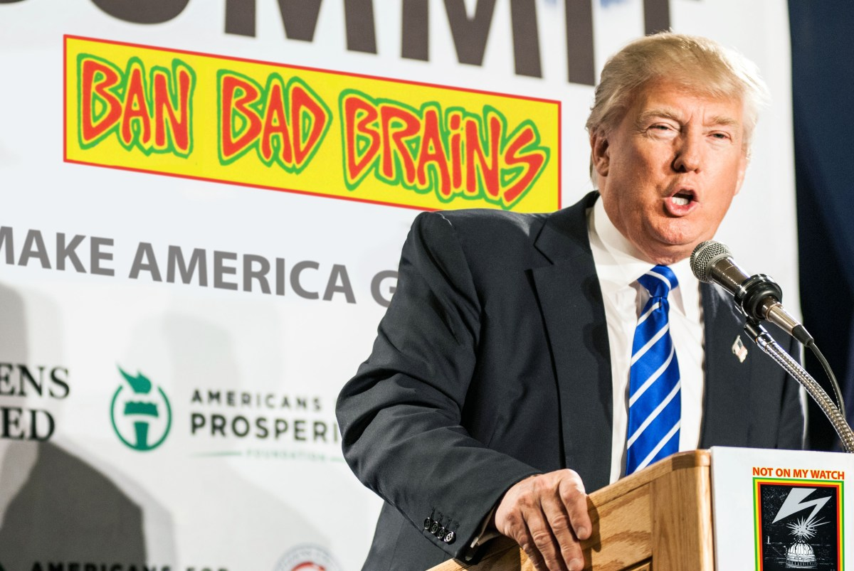 """Trump Proposes """"Total and Complete"""" Ban on Bad Brains in DC"""