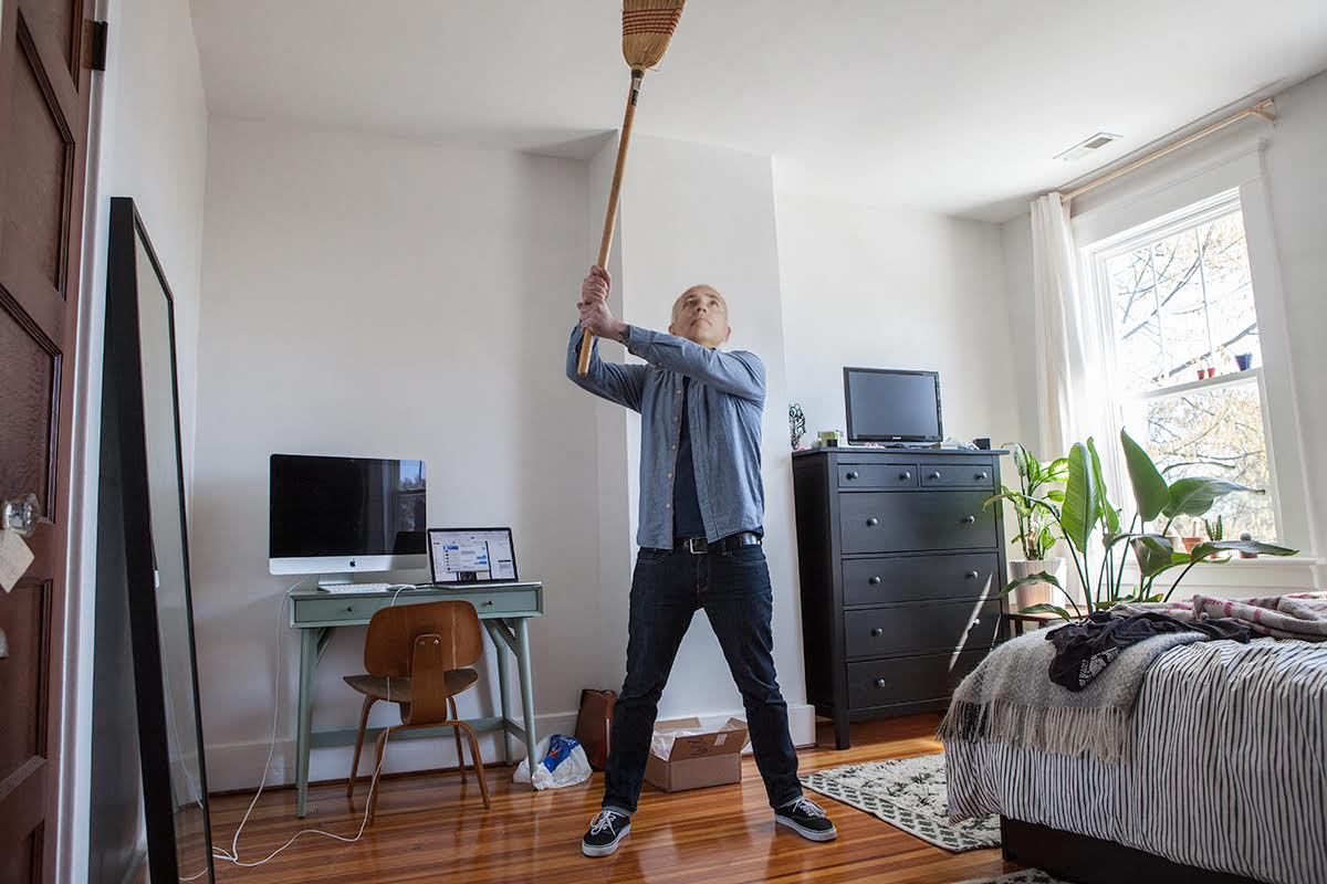 Audiophile Neighbor Pounds Ceiling to Demand You Adjust Midrange