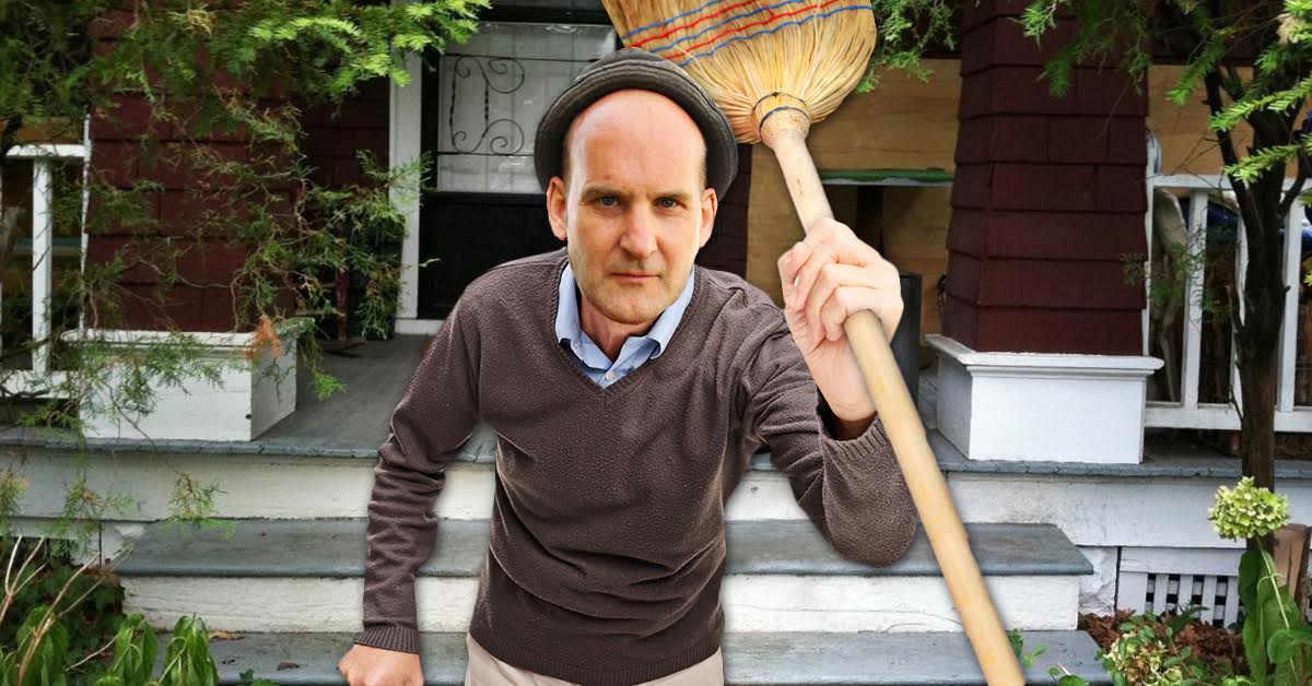 Aging Ian MacKaye Chases Kids Off Dischord House Porch