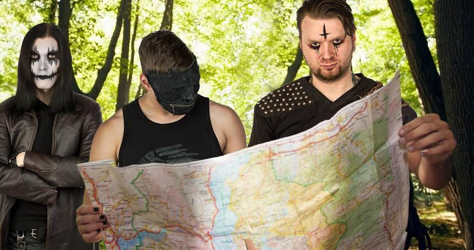 Black Metal Band Lost In Woods After Photoshoot