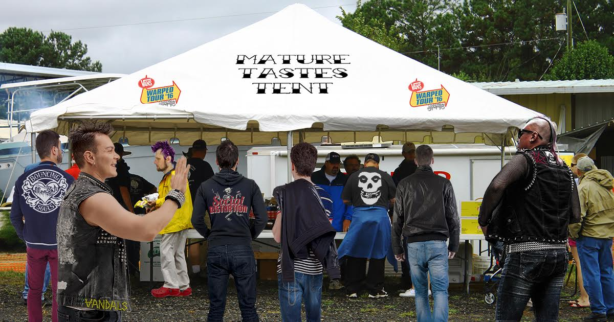 Warped Tour Unveils New Tent for Adults to Complain About Lineup