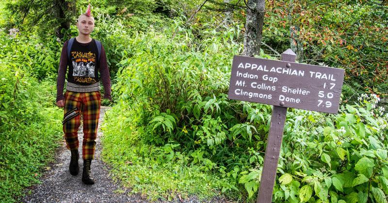 Punk Spends Six Months Mocking the Appalachian Trail