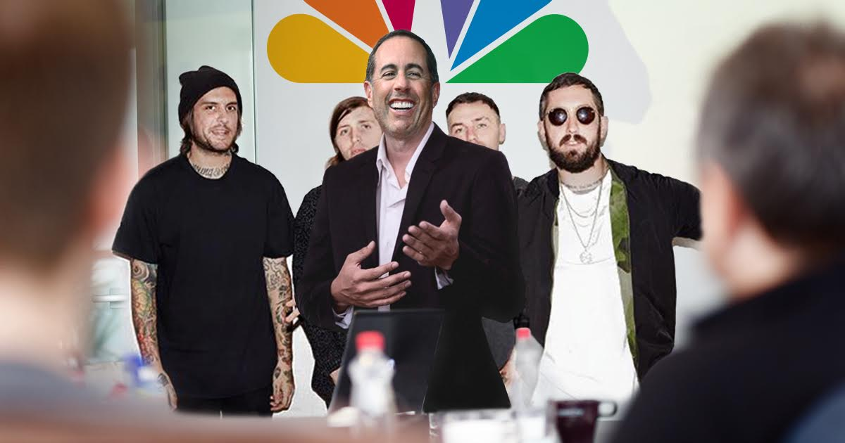 Jerry Seinfeld Pitches NBC A Show About Nothing