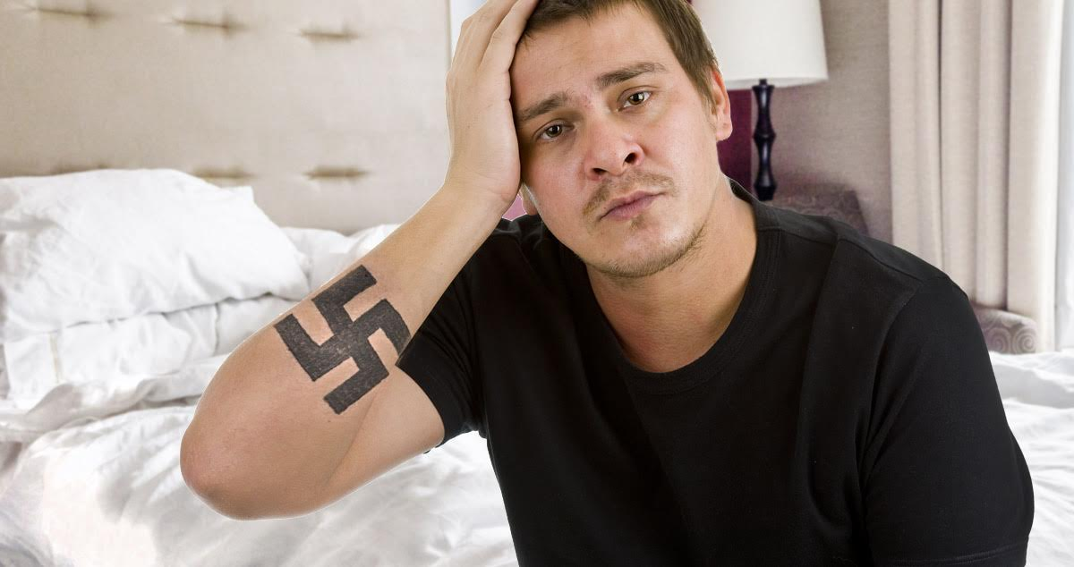 Help! My Anti-Swastika Tattoo Is Just a Swastika Until I Can Afford Another Session