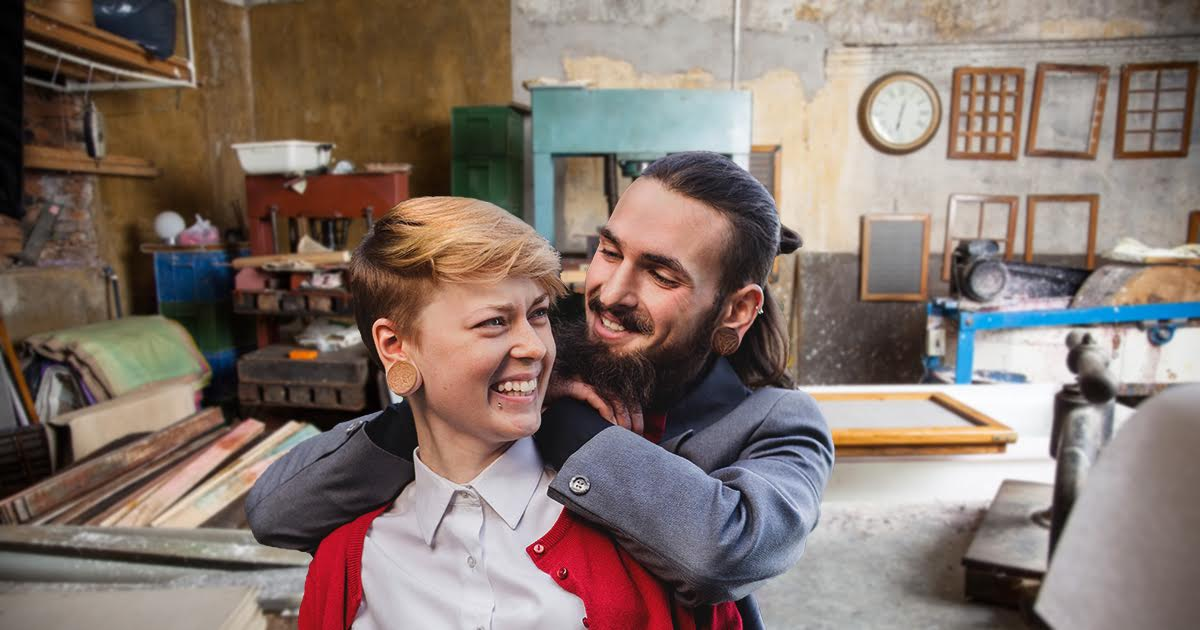 Meet the Punk Couple Probably Changing the World With Organic Soap or Some Shit