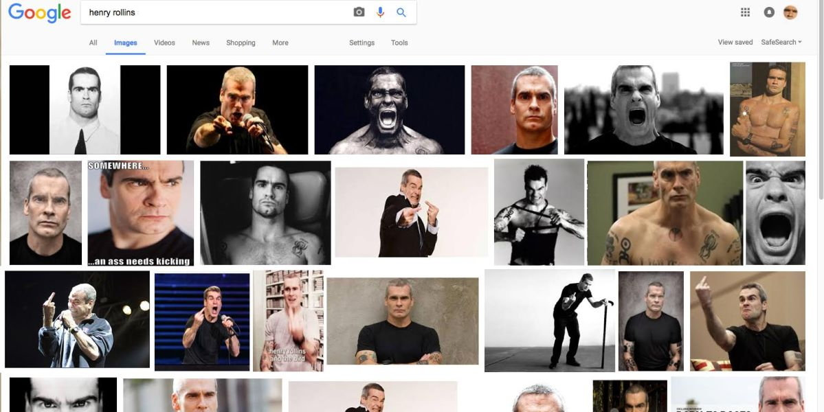 Man Who Googled Henry Rollins Images Worried He Did Something to Piss Him Off