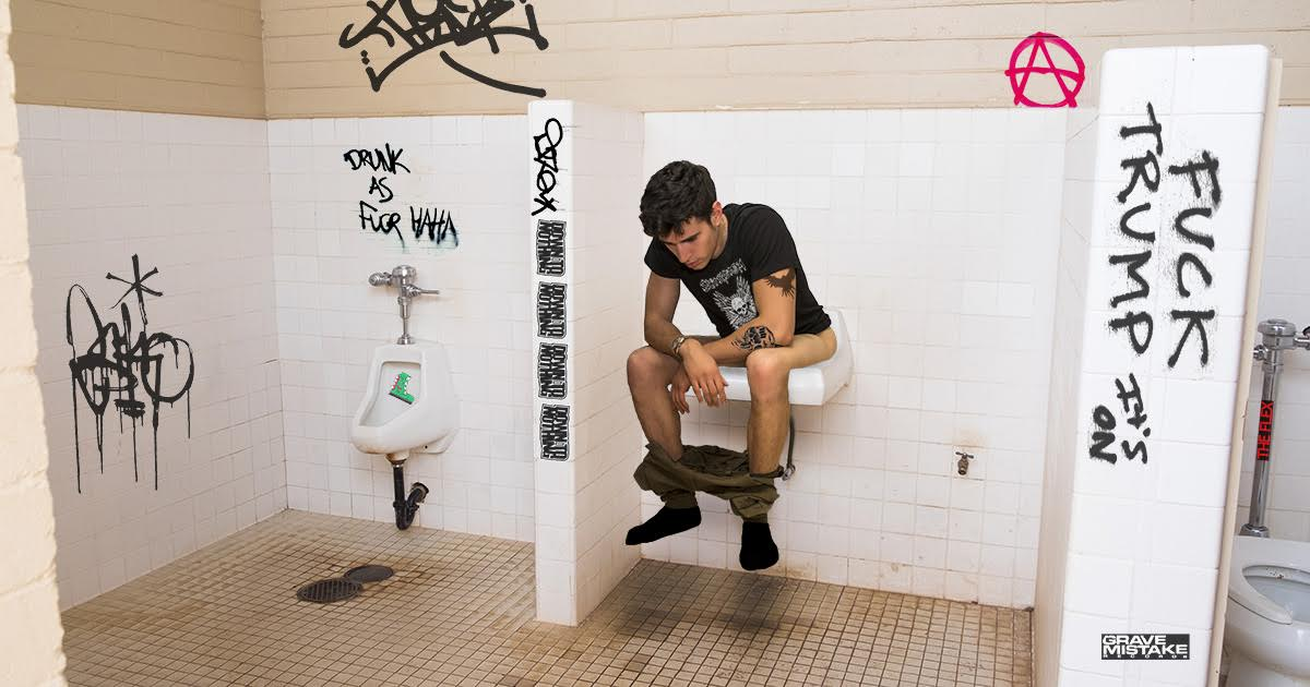 bidet, bathroom, punk, venue